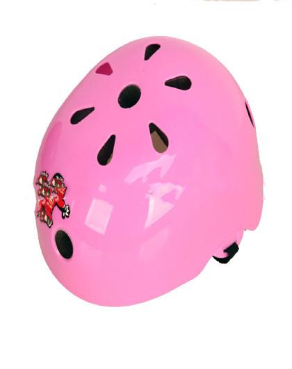 夏季儿童头盔 轮滑安全帽 滑板车溜冰鞋自行车梅花头盔