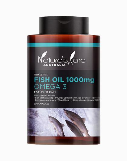 NATURE'S CARE AUSTRALIA 澳洲深海鱼油软胶囊200粒DHA护眼大脑益智老年保健