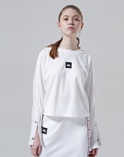 Kappa 卡帕kappa 舒适保暖 女款运动套头卫衣