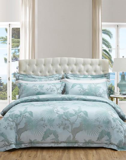 轻奢提花床单被套式1.5/1.8套件床上用品四件套