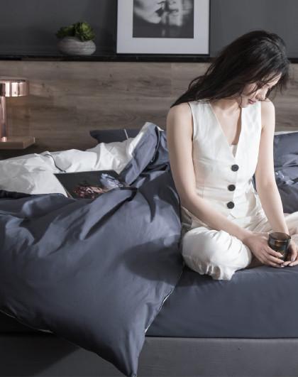 40s匹马棉全棉工艺款床单纯棉床上用品三/四件套
