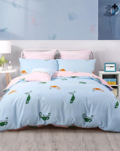【清仓特卖】全棉印花儿童三/四件套纯棉床单被套床上用品套件