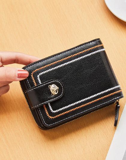 【多卡位卡包】新款牛皮女士钱包卡包女包女票夹钱包女短款