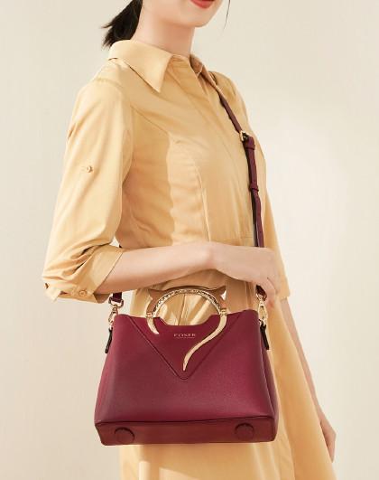 【人气爆款】新款牛皮手机包单肩包女式斜挎包包女手提包女包