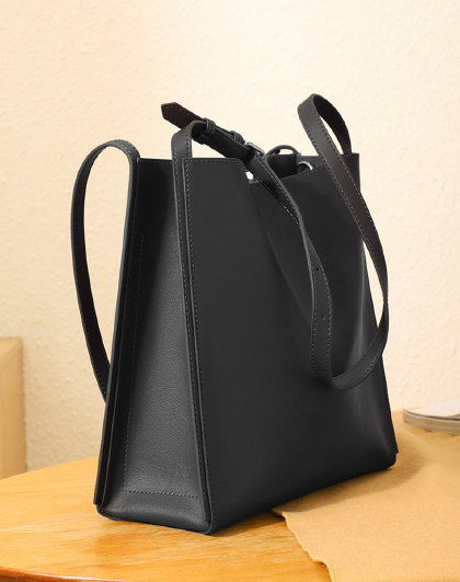 【商场同款】软牛皮托特包大容量手提包单肩女式斜挎包包女包
