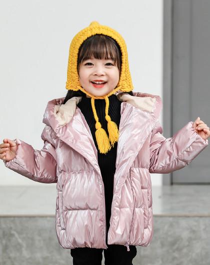 南极人 儿童羽绒服2019新款中性童羽绒服保暖连帽外套