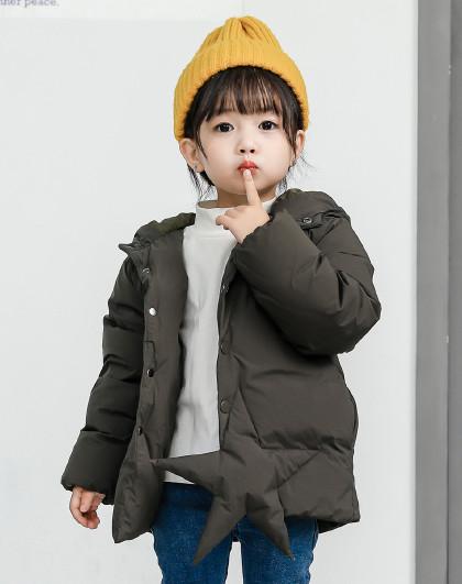南极人 儿童羽绒服2019新款潮流保暖外套连帽