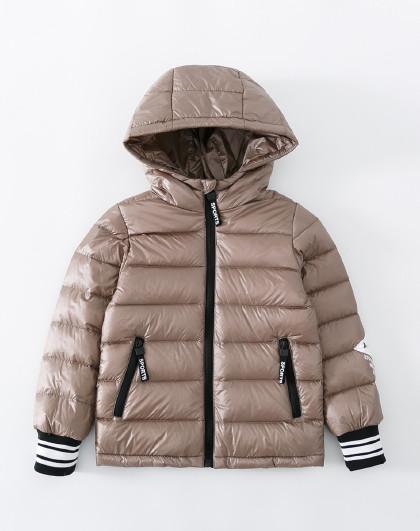 南极人 儿童羽绒服2019新款男童女童保暖连帽外套