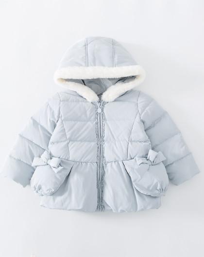 南极人 儿童羽绒服2019新款可爱女童羽绒服外套