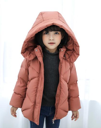 南极人 儿童羽绒服2019新款休闲童装女童羽绒服保暖外衣