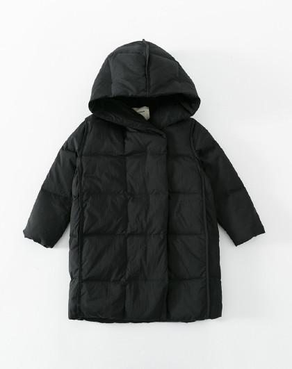 南极人 儿童羽绒服2019新款女童潮流外套保暖连帽羽绒服