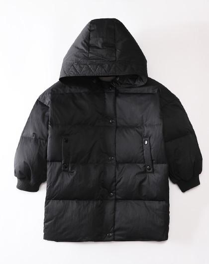 南极人 儿童羽绒服2019冬季新款女童时尚连帽羽绒服保暖外套