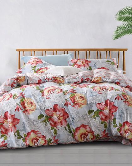 圣之花纯棉印花套件床上用品纯棉套件