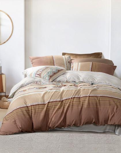 圣之花纯棉被套床单床上用品全棉套件