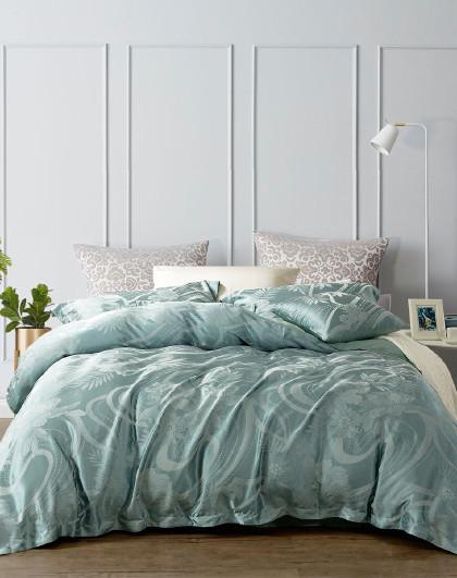 圣之花简奢北欧风提花套件四件套床上用品