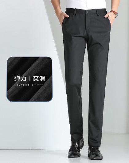 红豆 【弹力舒适】男式休闲裤百搭柔软男裤