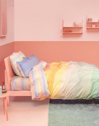 60支天丝莱赛尔活性印花四件套床单被套床上用品套件