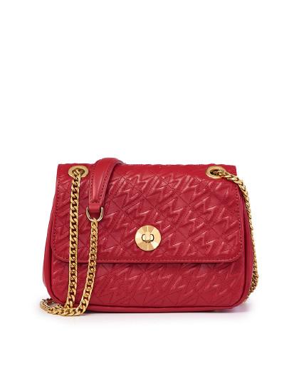 女包专柜同款小香风logo链条单肩包女式斜挎包