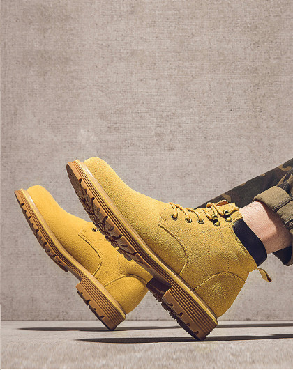 奥康 男鞋 2020年春季新款潮流英伦风马丁靴潮靴日常休闲