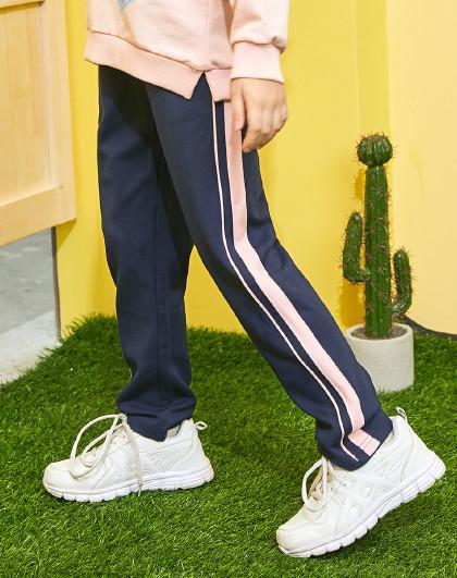 【人气热卖】春装新款女童裤子时尚运动休闲长裤