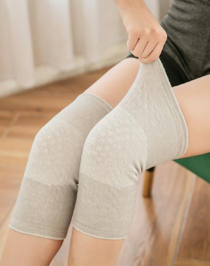 护膝盖护套保暖自发热瑜伽舞蹈运动护膝老寒腿女士漆**老人防寒