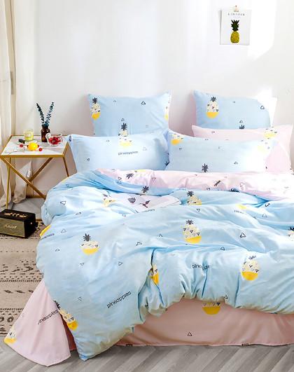 【轻水洗】原创ins风床单被套绵柔床上套件舒适亲肤床上用品