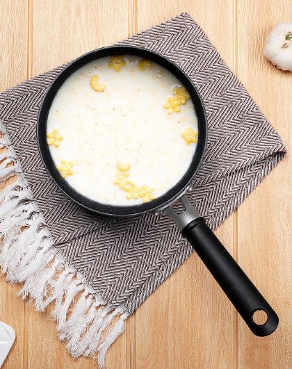 乐扣乐扣 麦饭石色带盖汤锅多灶通用奶锅汤锅