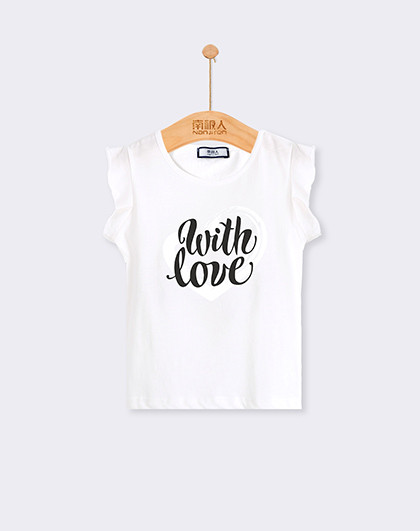 南极人 童装2018年新款夏装儿童短袖背心T恤女童背心女童T恤