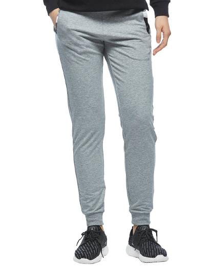特步 XTEP 女款潮流修身针织长裤