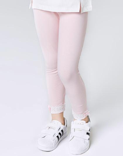 南极人 春秋薄款打底裤3-10岁童装女童长裤女童打底裤舒适弹力修身
