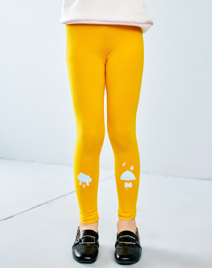 南极人 春秋薄款打底裤3-10岁童装女童长裤打底裤舒适弹力贴身