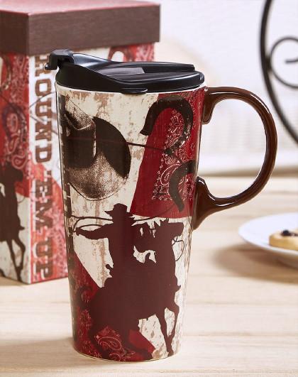 大容量陶瓷马克杯文艺简约办公室水杯女带盖杯子礼物礼盒送人家用