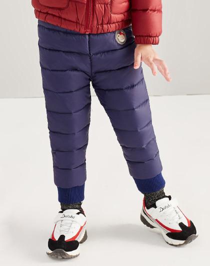 笛莎 Deesha冬季新款童装女童裤子儿童轻薄羽绒裤