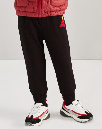 笛莎 Deesha2018冬季新款童装儿童休闲裤女童加绒裤子