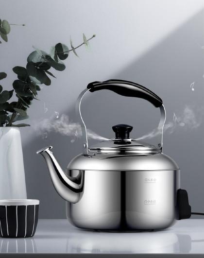 爱仕达 5L电烧水壶大容量不锈钢水开热水壶防干烧自动断电水壶烧水壶