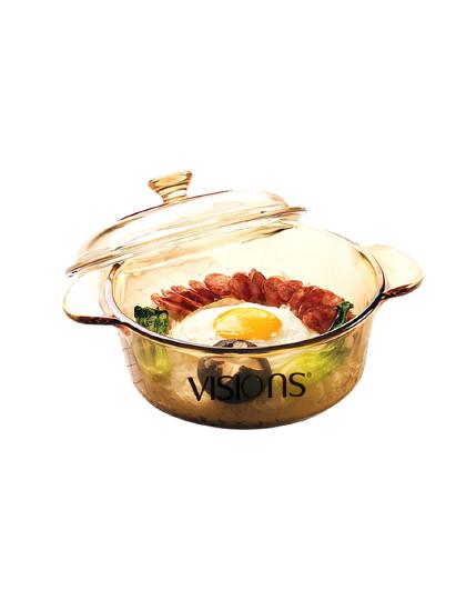 VISIONS 法国进口1.25L耐热玻璃透明锅汤锅