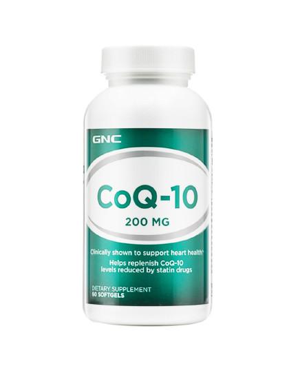 GNC 健安喜辅酶Q10软胶囊200mg60粒/瓶