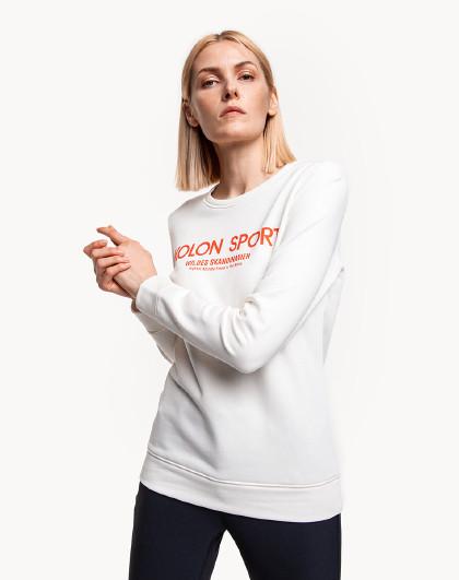 可隆女士秋季户外运动字母大LOGO时尚潮流百搭卫衣
