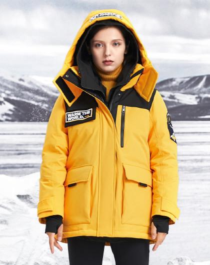 【加厚】女羽绒服极寒鹅绒加厚冬季保暖时尚外套