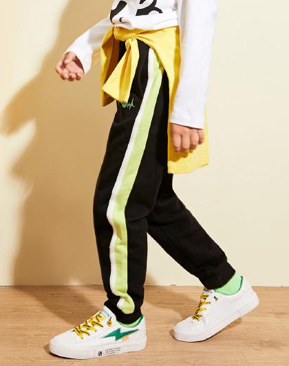 童装男童时尚针织长裤