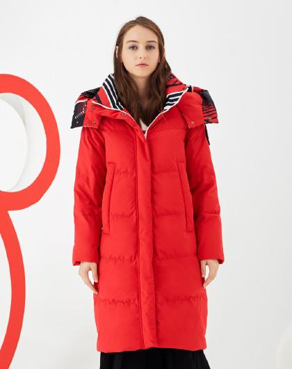 【中长款】女中长款羽绒服米奇合作款潮时尚外套
