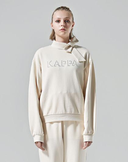 Kappa 卡帕kappa 舒适百搭 纯色设计 运动套头女式卫衣
