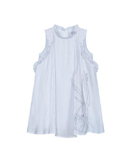 太平鸟童装兔八哥女童夏装连衣裙