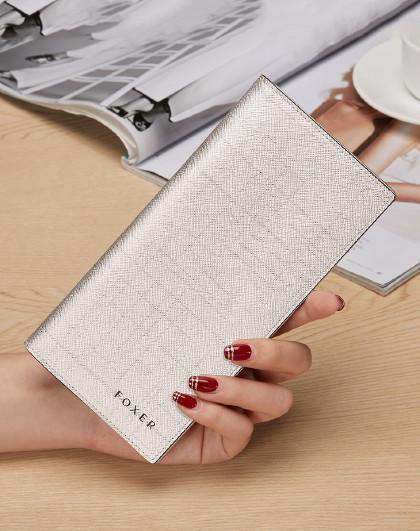 新款时尚牛皮包包长款钱包女零钱包手拿包卡包钱夹女士钱包