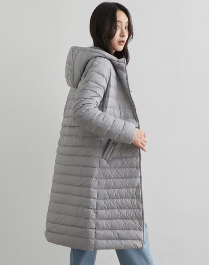 【专柜同步】薄款连帽女式羽绒2020冬季新款潮流时尚羽绒服女