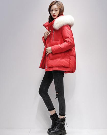 短款时尚羽绒2020冬季新款防寒保暖品质白鸭绒休闲羽绒服女