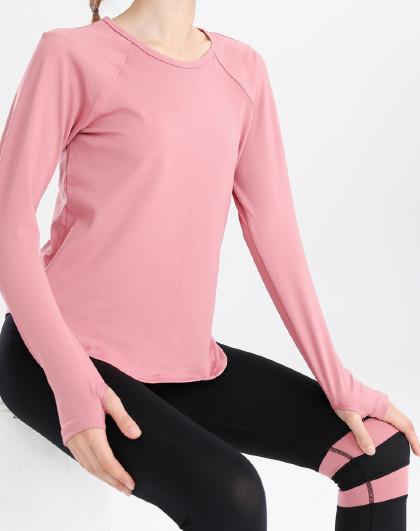 女款瑜伽健身跑步T恤