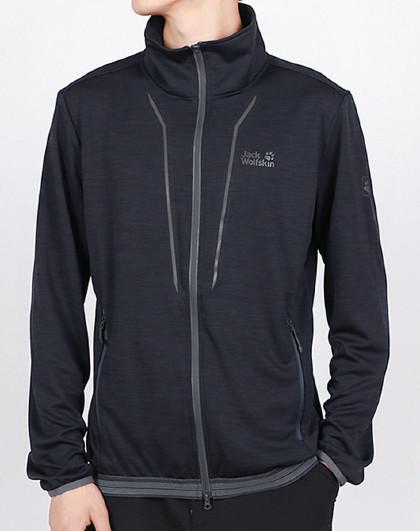 狼爪户外运动外套保暖防风耐磨透气针织夹克