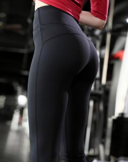 女式瑜伽健身跑步长裤 翘臀美体 运动家居服