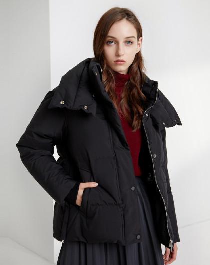 【反季清仓】羽绒服女装短款冬季保暖时尚厚款外套潮